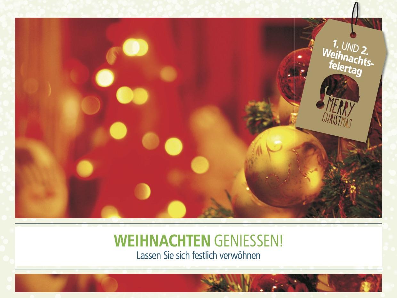 Angebot 1.+2. Weihnachtstag Bild