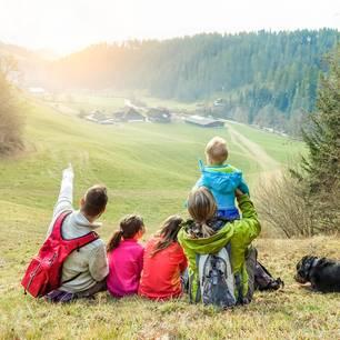 familienurlaub wandern